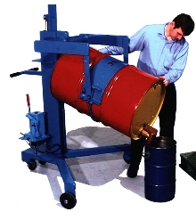 Drum Lift/Transport Stations have 1,000 lb capacities.