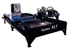 Plasma Cutter offers short repositioning time.