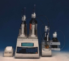 Moisture Titrators use Karl Fischer technique.