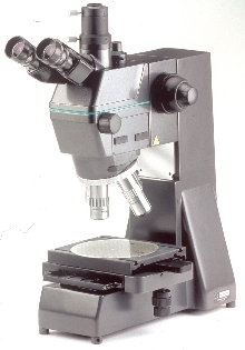 Microscope provides inspection and quality assurance.