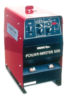 Welder produces 450 amps at 100% duty cycle.