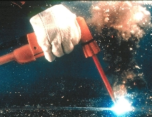 Torches suit underwater cutting and welding.