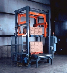 Pallet Load Stacker provides max load lift of 3500 lbs.