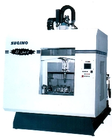 Parts Washer cleans complex, 6-sided components.