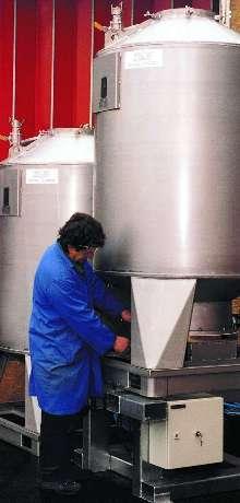 Mixer suits noxious, corrosive, or toxic substances.