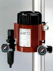 I/P Transmitter uses natural gas as pneumatic supply.