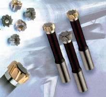 Reamers offer multi-flute, modular design.
