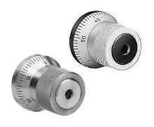 Indexing Mechanisms come in steel and stainless steel.