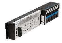 Terminal interfaces standard valve terminals to Fieldbus systems.