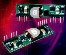 DC/DC Converters offer vertical and horizontal configurations.