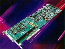 PCI A/D Board streams at 14-bit resolution.