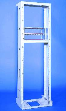 Open Frame Rack protects equipment during earthquakes.