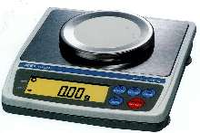 Compact Balances have stainless steel weighing pan.
