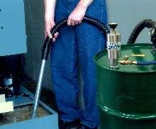 Drum Pump turns 30 gal drum into liquid vacuum.