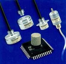 Rotary Encoders provide 9-bit resolution.