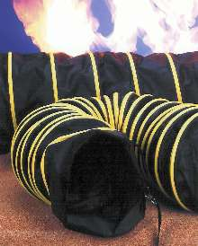 Retractable Blower Hose suits positive airflow applications.