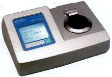 Refractometer suited for high refractive index samples.