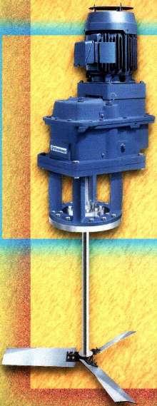 Turbine Agitator uses hydrofoil/gas dispersion impellers.