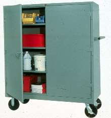 Storage Cabinet features all-welded construction.