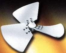 Side-Entering Impeller utilizes hydrofoil design.