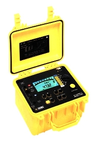 Insulation Tester generates reports automatically.