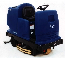 Floor Scrubber offers 56 in. turning radius.