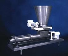 Pump Feeder handles high viscosity pumped materials.