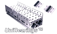 Bearings add motion and modularity to structures.