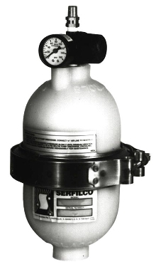 Pulsation Dampeners eliminate pressure surges.