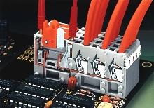 Terminal Strip uses spring pressure termination.