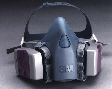 Reusable Respirator reduces heat and moisture buildup.