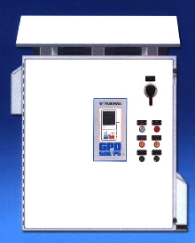 Drive Enclosure suited for outdoor HVAC applications.