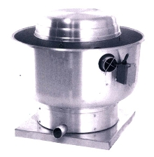 Belt Centrifugal Fans mount to roof or wall.