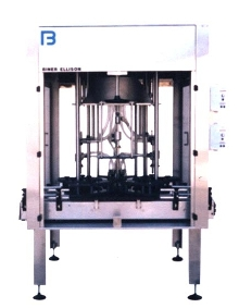 Liquid Filling System accommodates 6 to 36 fill stations.