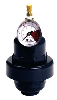 Pulsation Dampener eliminates metal fasteners.