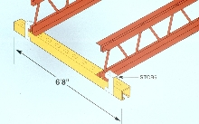 Channel Framing spans bar joists.