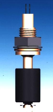 Liquid Level Sensor features brass housing.