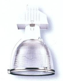 Enclosed Luminaire balances uplight and downlight.