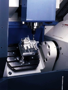 Machining Center integrates multiple processes in one setup.
