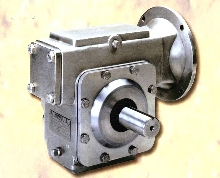 Speed Reducer handles corrosive environments.