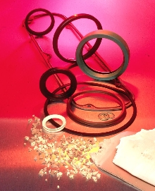 Dispersions facilitate mixing of fluoroelastomer compounds.