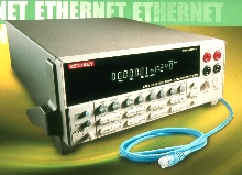 DMM/Data Acquisition System is Ethernet-based.