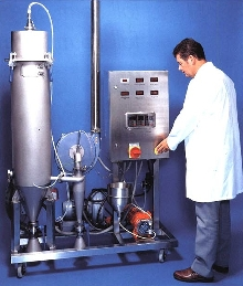 Spray Dryer controls and measures relative humidity.