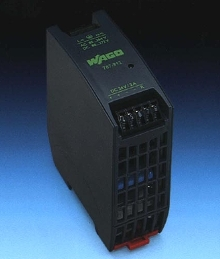 DIN-Rail Power Supply offers 85% efficiency.