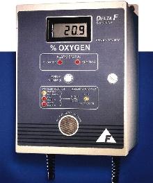 Oxygen Monitor utilizes electrochemical sensor.