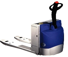 Pallet Truck carries more than 2 tons.