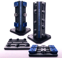 Workholding Systems have modular clamping components.