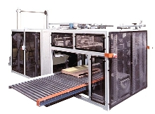 Sheeter/Stacker offers continuous operation.