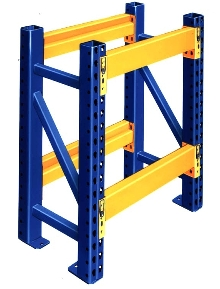 Storage Rack offers seamless, square-tube construction.
