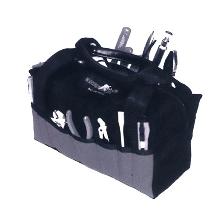 Soft Tool Box eliminates sharp edges.